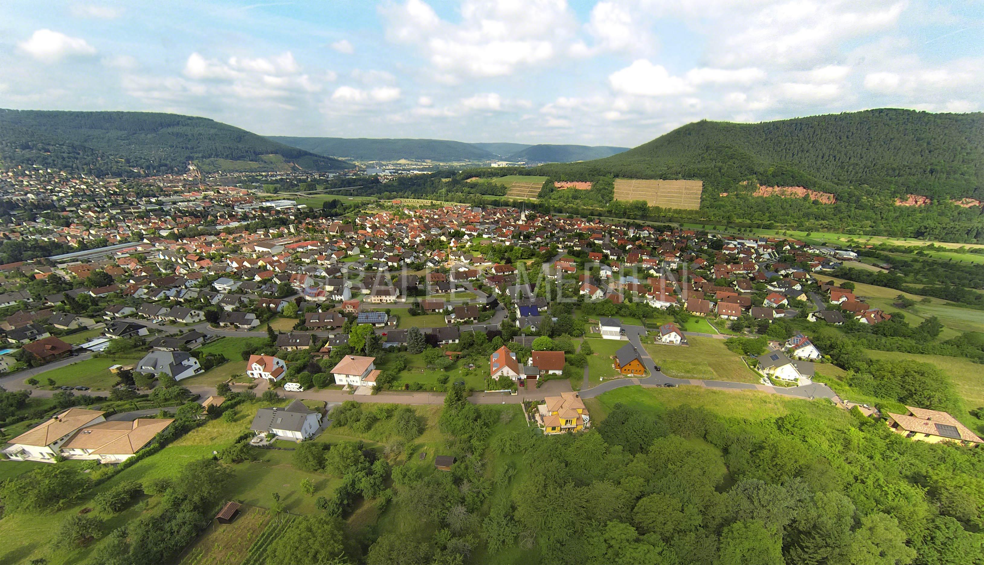 Luftaufnahme Bürgstadt