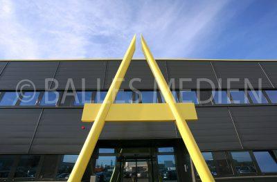 Produktionshalle Neuenstadt, Landerer