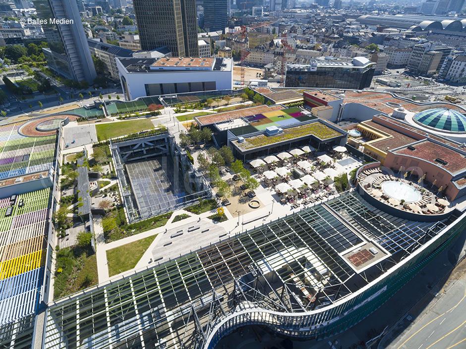 Skyline Garden / Skyline Plaza, Frankfurt
